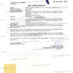Irri6 White Rice for Non-GMO Certificate.