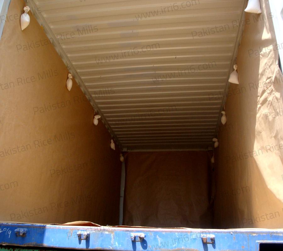 Shipment for Pakistan Long Grain IRRI-6 White Rice, 25% Broken Rice Exporters.